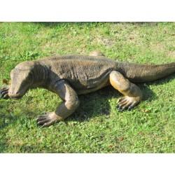 grand Varan de Komodo taille réelle