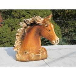 statue tête de cheval
