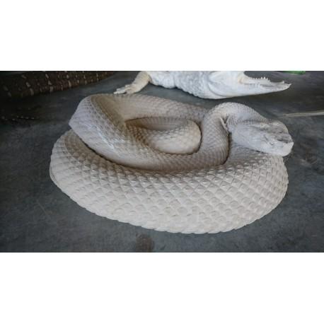 Serpents  à la demande, taille réelle.